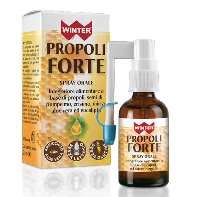 WINTER INTEGRATORE ALIMENTARE DI PROPOLI FORTE SPRAY ORALE 20ml